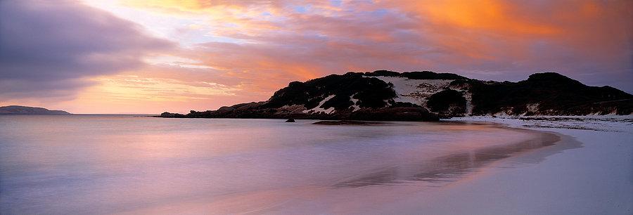Sunset, Esperance beach, South Coast, Western Australia
