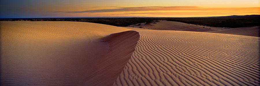 Sand Dunes at Ningaloo, Exmouth, North Western Australia