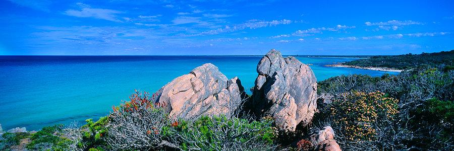 Curtis Bay, Dunsborough beach, Geographe Bay, South Western Australia