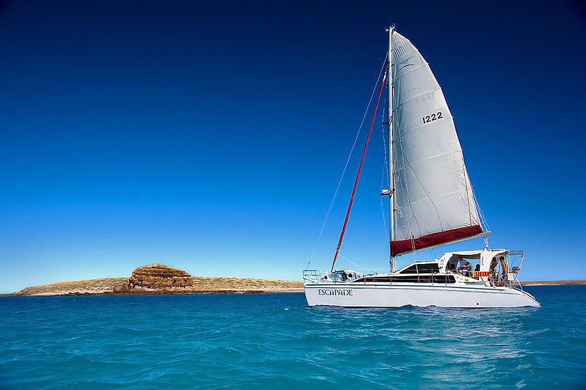 Sailing, Dampier Peninsula, Kimberley, North Western Australia