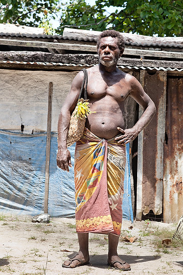 Male Tribesman, Papua New Guinea