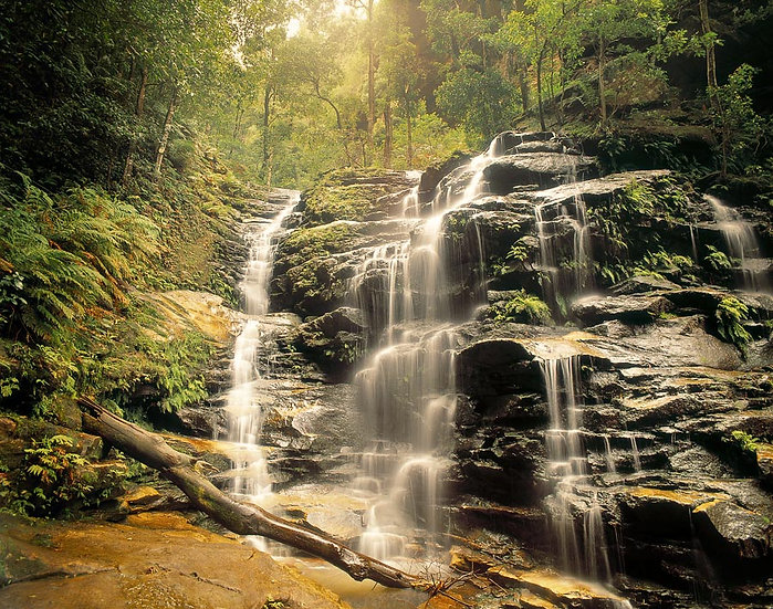 Waterfall, Valley of the Waters, Blue Mountains, NSW, Australia