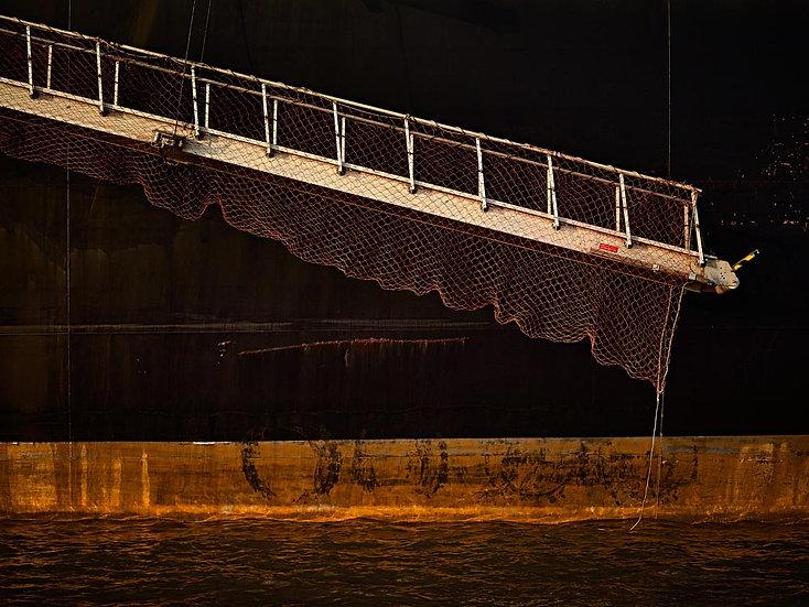 Gangway, Ship, Port Hedland, Pilbara, North Western Australia