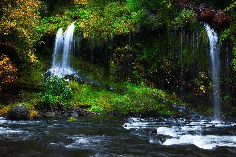 Waterfall California, USA