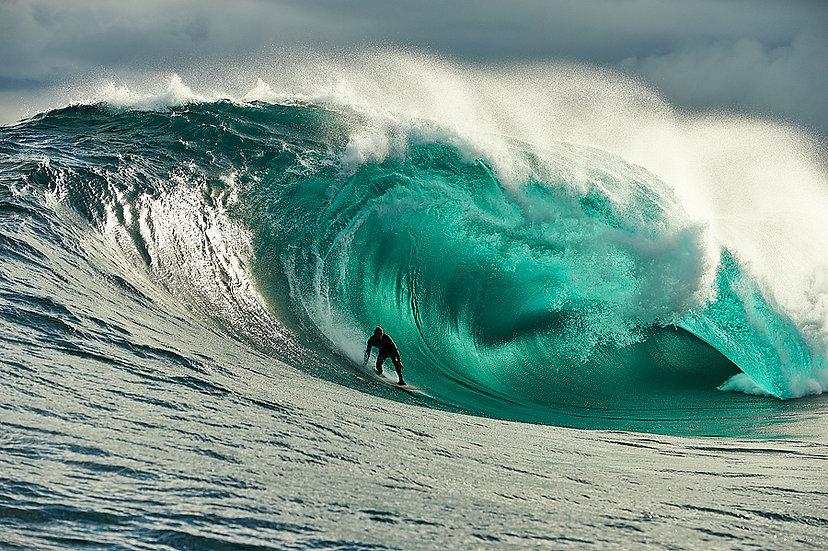 Riding A Wave, Esperance Western Australia