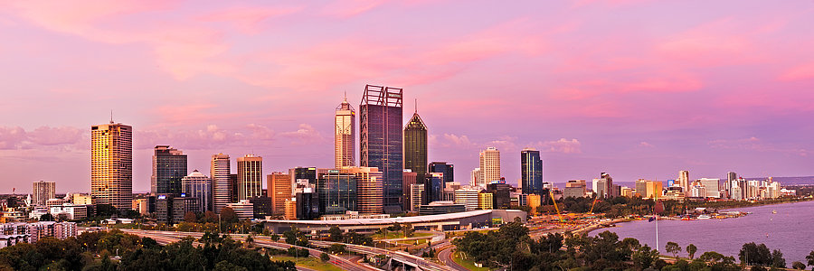 King's Park Sunset, Perth, Western Australia