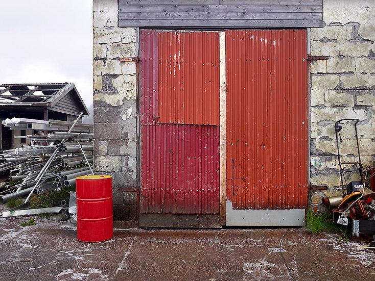 Red Shed Door