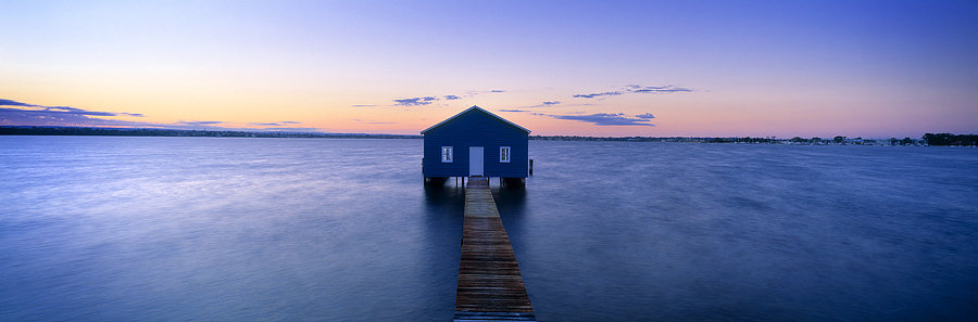 Boat Shed, Swan River,  Perth City, Western Australia