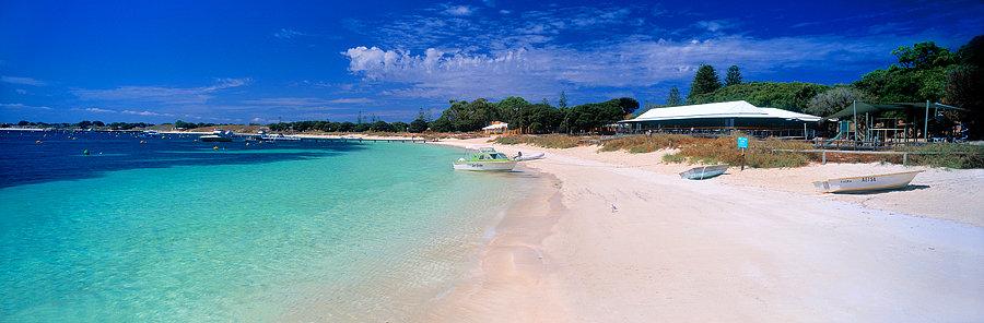 Thomson Bay Settlement, Rottnest Island, Perth, Western Australia