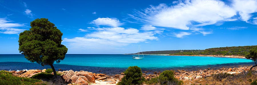 Yacht, Rocky Point, Dunsborough, South Western Australia