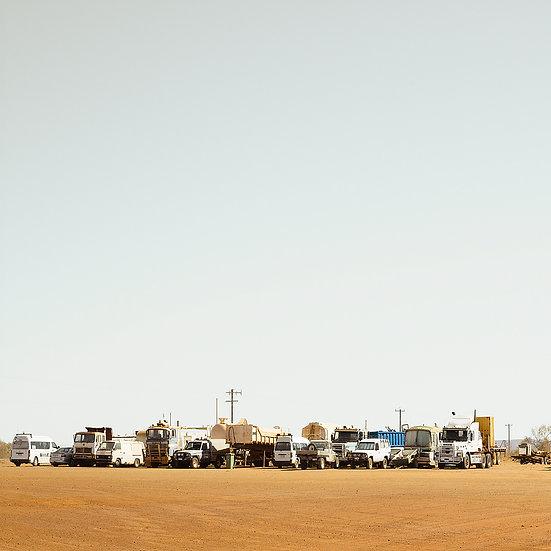 Trucks and Cars, North Western Australian Truck Stop.
