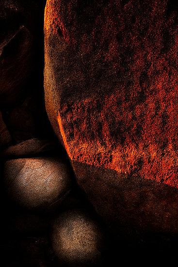 Boulder, granite rock