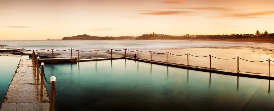 Mona Vale Baths, Sydney, NSW, Australia