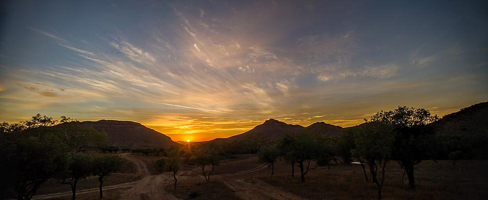 Sunset over the Flinders Ranges, South Australia