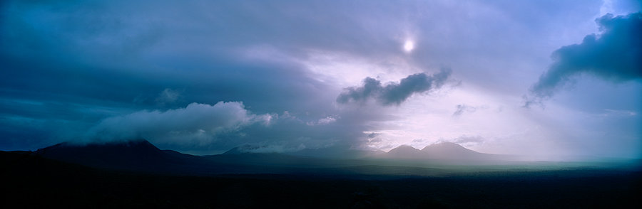 Clouds over the Stirling Ranges, Great Southern,  Western Australia