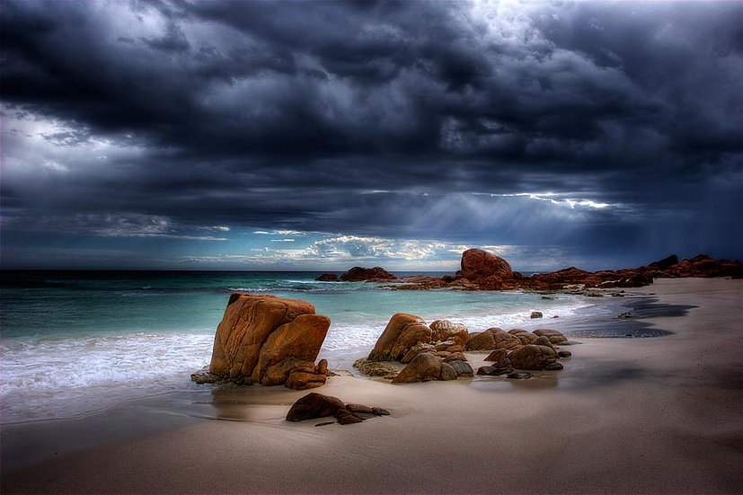 Winter Storm, Point Piquet, Eagle Bay ,South Western Australia