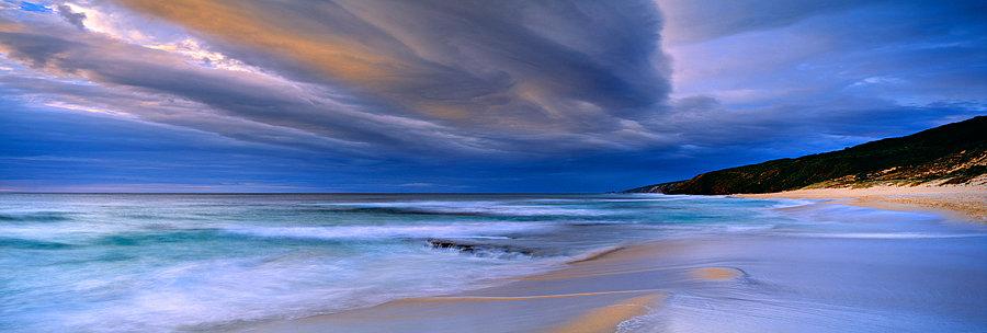 Storm clouds, Yallingup Beach, South Western Australia