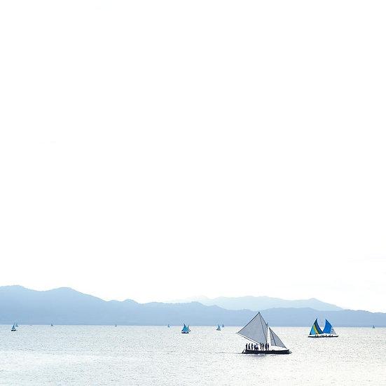Sailing Boats, Alotau, Papua New Guinea