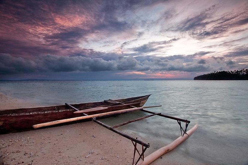 Canoe Papua New Guinea