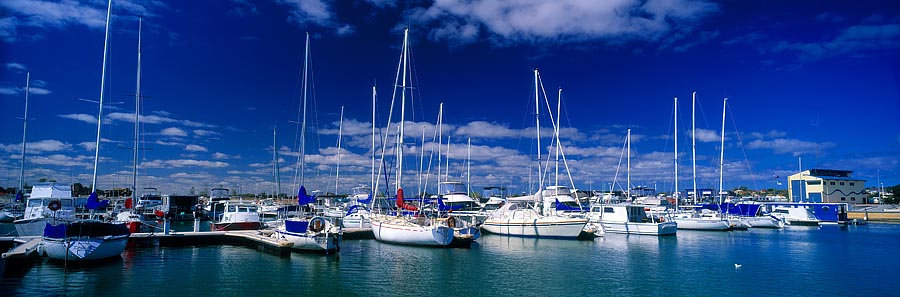 Yachts, Ocean Marina, Mandurah, Western Australia