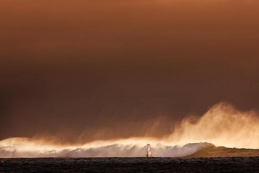 Windsurfer, Surfers Point, Margaret River, South Western Australia