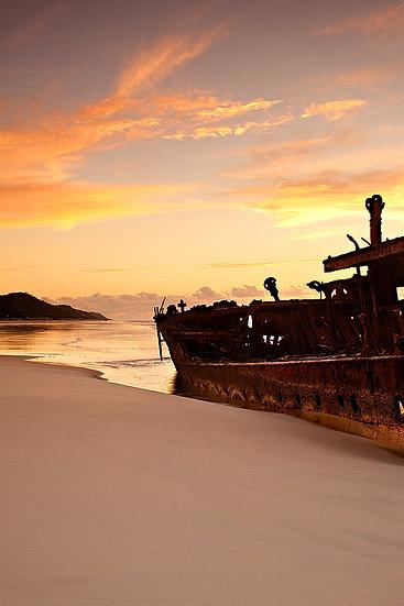 Ship Wreck, Fraser Island, Queensland, Australia