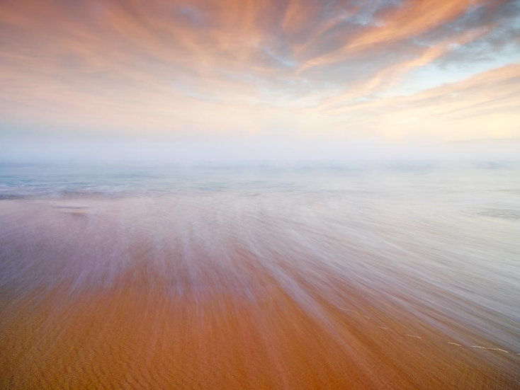 Sunset over Smiths Beach, Yallingup, South Western Australia