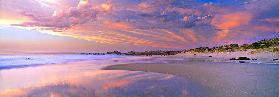 Cape Naturaliste beach at sunset, South Western Australia
