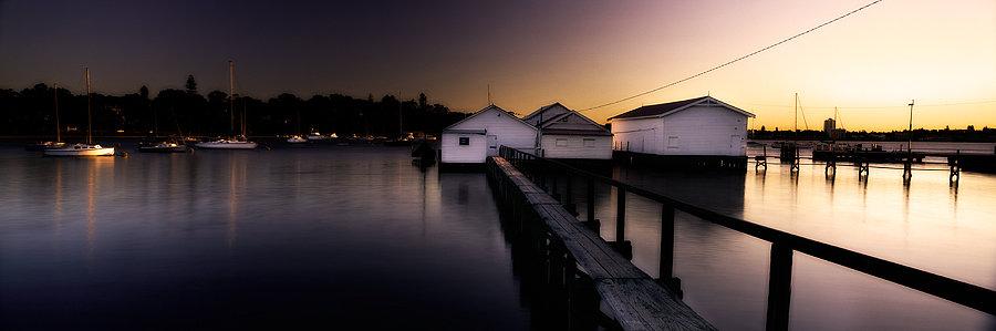 Boat House, Swan River, Perth, Western Australia