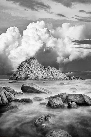 Storm over Sugarloaf Rock Western Australia