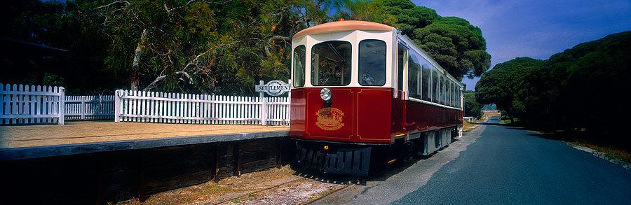 Train, Rottnest Island, Western Australia