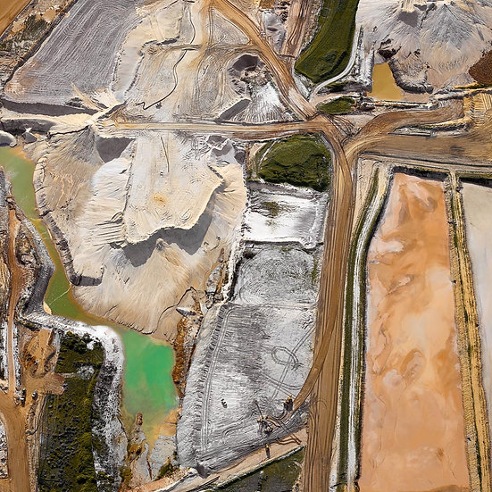 Mineral Sands Mine Aerial, Busselton, South Western Australia