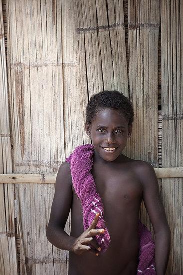 Smiling Boy, Papua New Guinea