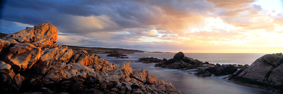 Ocean, Canal Rocks, Injidup beach, South Western Australia
