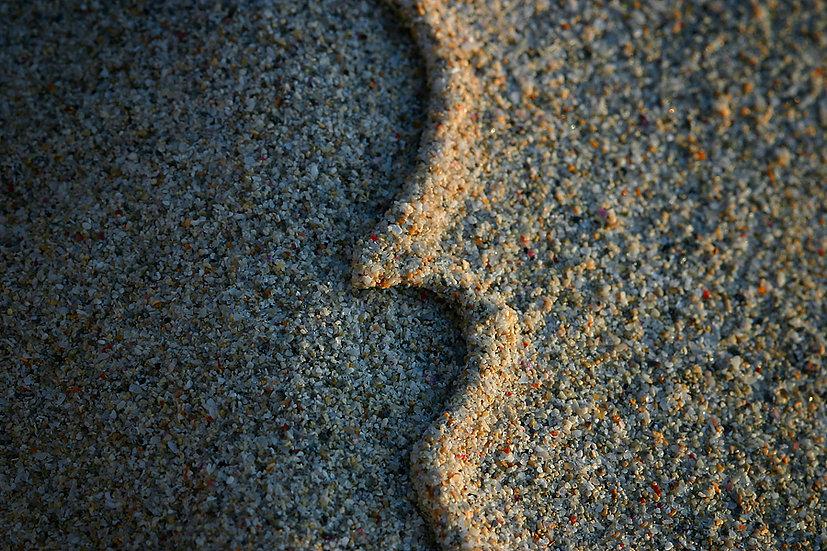 Sand patterns  closeup