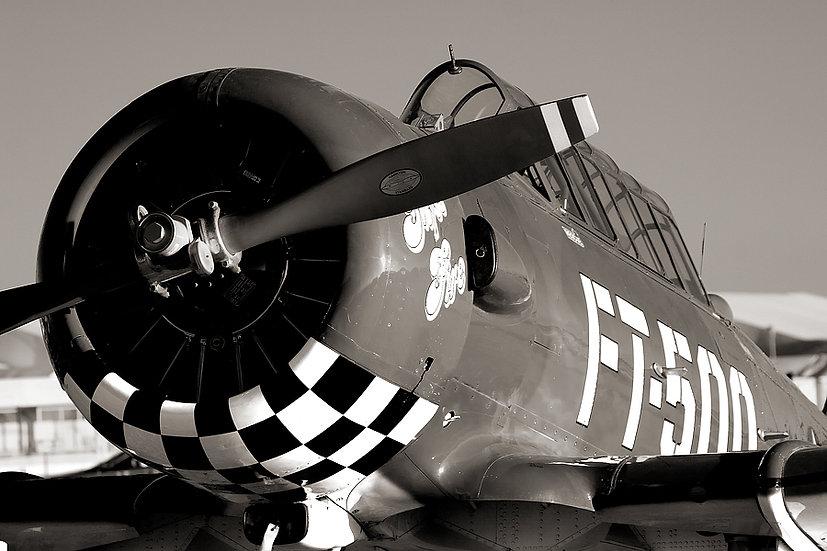 Harvard aeroplane.