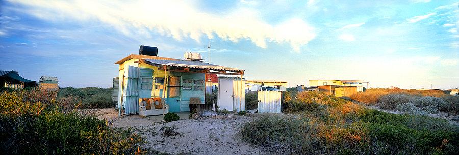 Beach shack, Quobba, Carnarvon, North Western Australia
