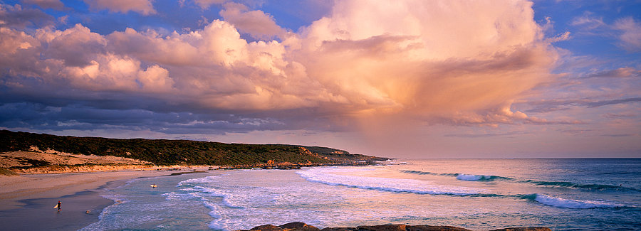 Surfers, Redgate Beach, Margaret River,  South Western Australia