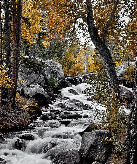 Lee Vining Waterfall California America