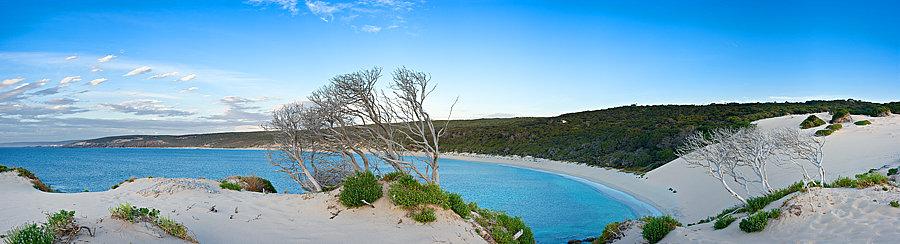 Injidup Beach sand dunes, South Western Australia