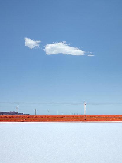 Salt ponds, Karratha, Dampier, Pilbara, North Western Australia