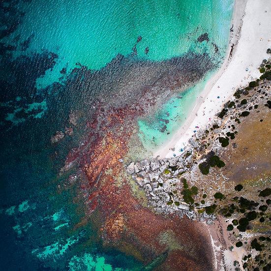 Beach, Kangaroo Island Aerial, Australia