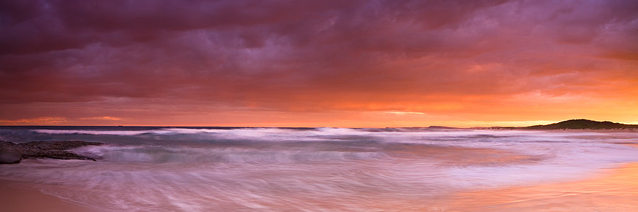 Sunset Soldiers Beach, New South Wales Australia