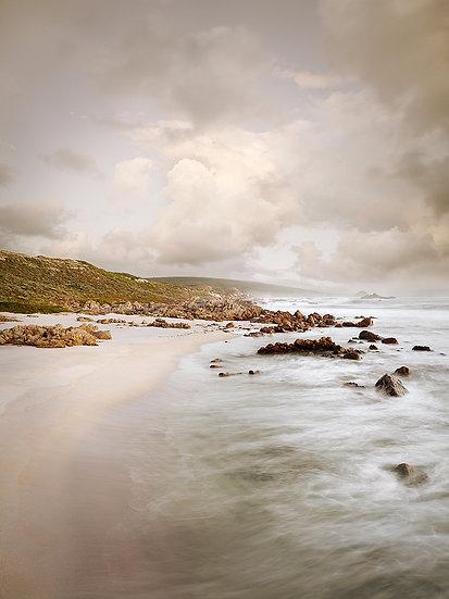 Cape Naturaliste beach at sunset, South Western Australia,