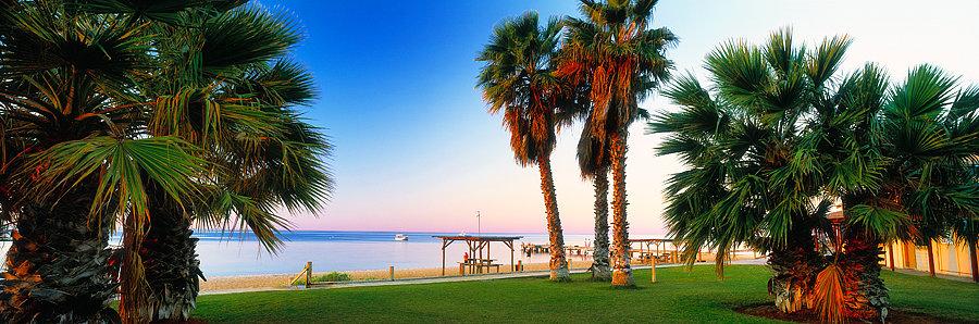 Resort, Monkey Mia, Shark Bay, North Western Australia