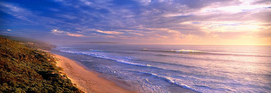 Three Bears surf break, beach, Yallingup, South Western Australia