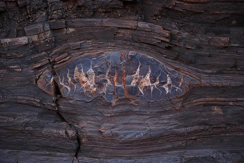 Rock patterns, Karijini National Park, North Western Australia