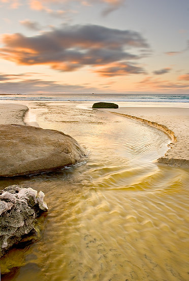 Gunyulgup Valley Creek, Smith Beach, Yallingup, South Western Australia