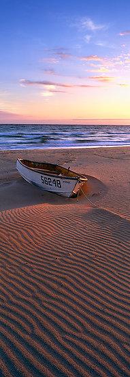 Boat on Eagle Bay beach, Dunsborough, South Western Australia