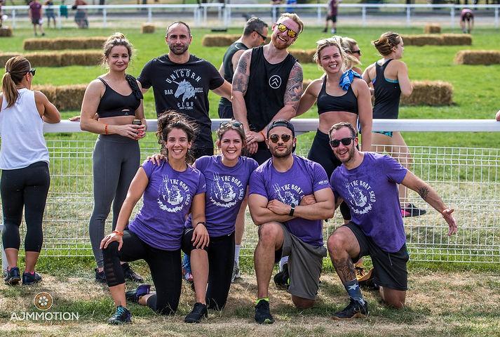 Social Fun Team CrossFitters